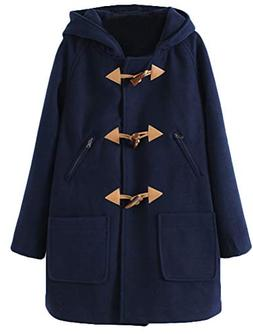 women s wool blend toggle coat outdoor