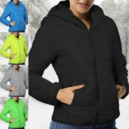 Women Short Parka Ultralight Winter Jacket Warm Puffer Coat
