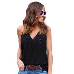 Gillberry Women Tank Tops, Women Summer Lace Vest Top Short