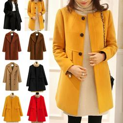 women winter fall duffle coat peacoat jacket