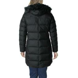 The North Face Womens Black Winter Down Parka Coat Outerwear