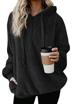 womens fashion hoodies casual oversized loose fuzzy