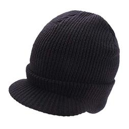 OUSPOTS Womens Hat Winter, Warm Cable Ribbed Knit Beanie New