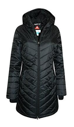 Columbia Womens Morning Light II Omni Heat Long Jacket Coat