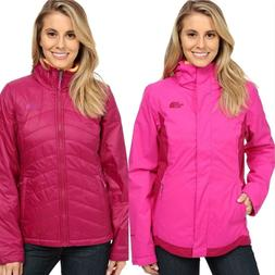 THE NORTH FACE WOMENS MOSSBUD SWIRL TRICLIMATE 3IN1 JACKET S