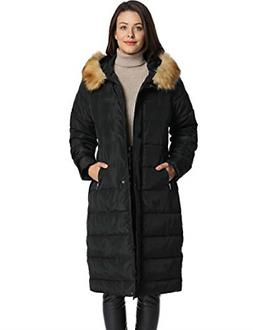 iLoveSIA Womens Puffer Long Coat Winter Maxi Parka with Faux