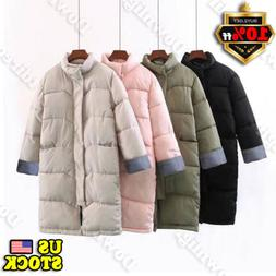 Womens Winter Coats Down Jacket Ladies Warm Hooded Jackets L