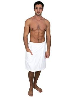 TowelSelections Men's Wrap, Shower & Bath Terry Towel with S