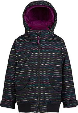 Burton Youth Girls Minishred Twist Bomber Jacket, Candy Dots